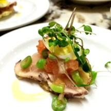chef Andrea Harling of Brava Bistro presented this refreshing & well-balanced bite photo - Karen Anderson