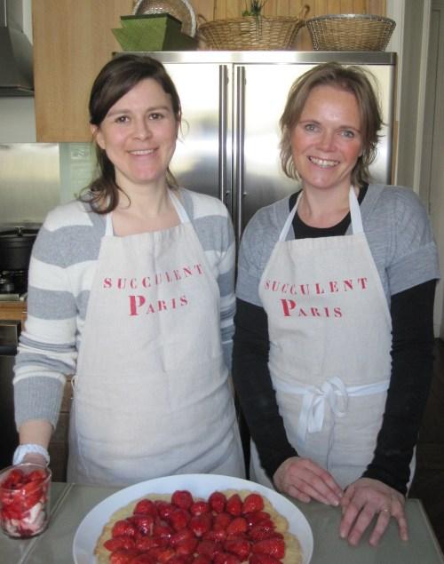 Aurelie Mahoudeau and Marion Willard of Succulent Paris photo - Karen Anderson