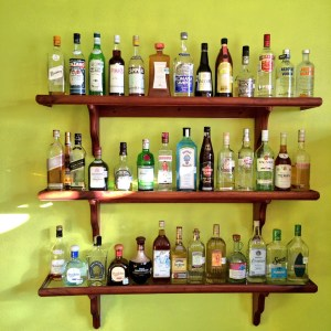99 bottles of tequila on the wall photo - Karen Anderson