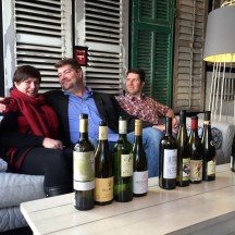 friends - hardly foes - these sommeliers had fun with the challenge of pairing wine and food photo - Karen Anderson