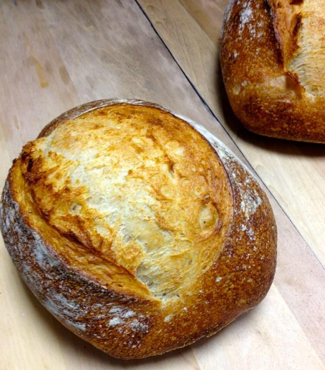 sourdough bread by Aviv Fried at Sidewalk Citizen bakery in Calgary - photo credit - Karen Anderson