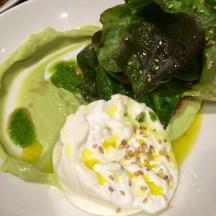 Avocado and fior di latte salad - photo - Karen Anderson