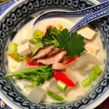 The Great Wall of Chinese Vegetables Soup - photo - Karen Anderson