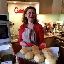 Aurelie really loves baking - photo - Karen Anderson