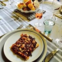 1st course - onion tart - photo - Karen Anderson