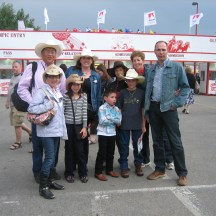 A day at the Stampede Grounds with family and friends is a Calgary tradition - photo - Karen Anderson