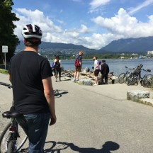 Cycling Stanley Park - photo - Karen Anderson