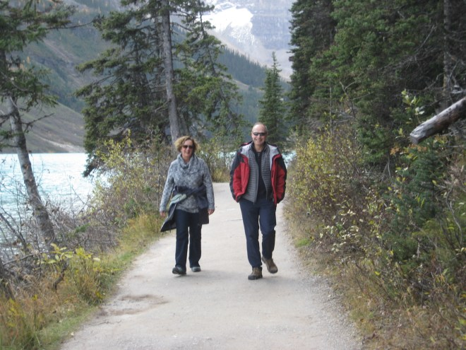 Hiking is a great Alberta Thanksgiving tradition - photo - Erik Anderson
