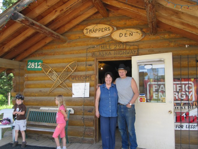 John and Cindy Wells  and their store