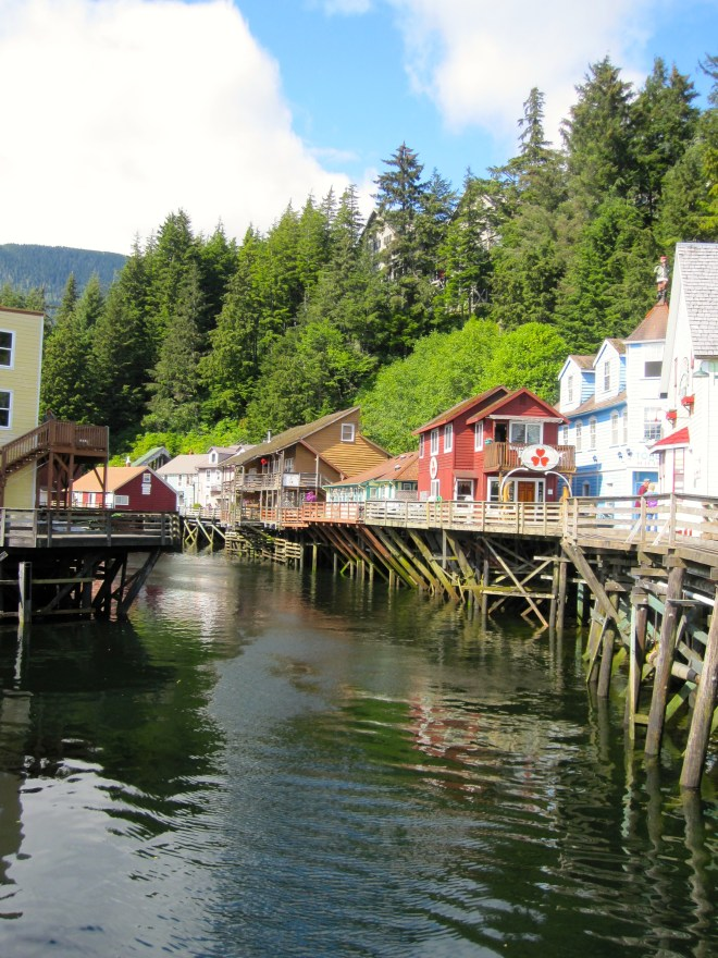 Downtown Ketchikan, AK