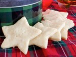 Shortbread Cookies - side view