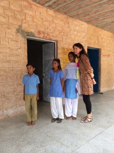 School visit in Chandelao, Rajasthan - photo credit - Karen Anderson