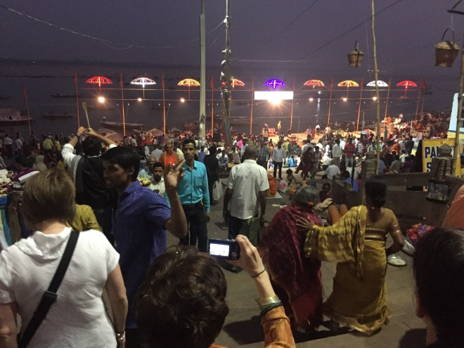 Gathering at the Ganges - photo credit - Karen Anderson @savouritall