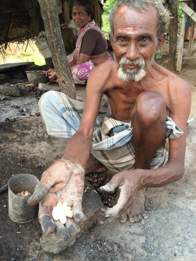 tamilnadu cashew man - photo credit - Karen Anderson @savouritall