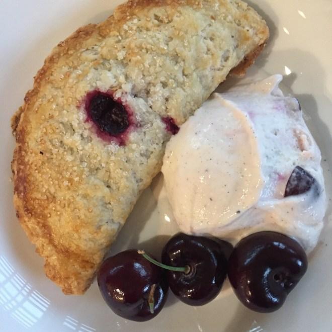 Sour Cherries - pie - Karen Anderson - Savour it All blog