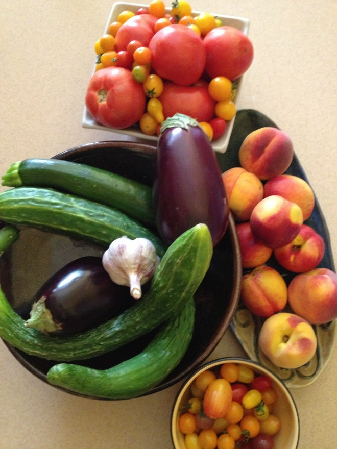 summer harvest - photo credit - Karen Anderson - Savour It All Blog