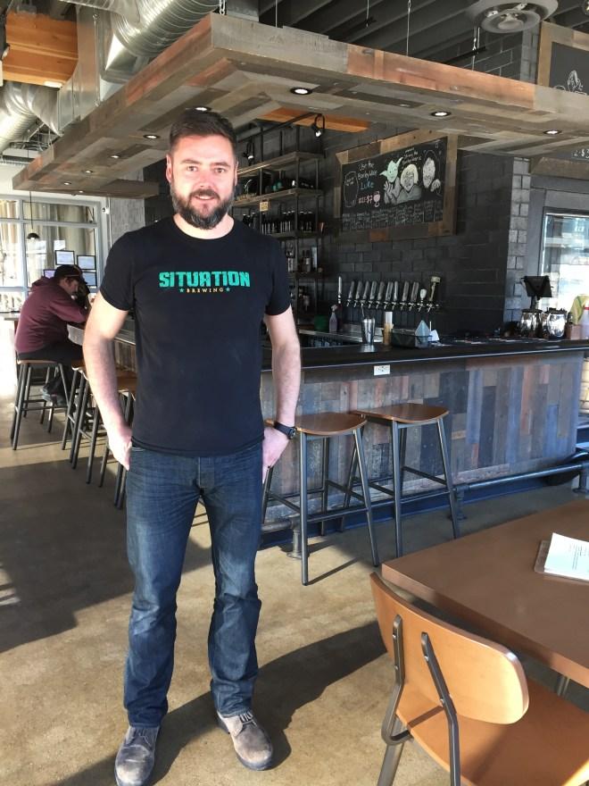Wayne Sheridan, Situation Brewing, Edmonton Food Tours, Alberta Food Tours, Inc.