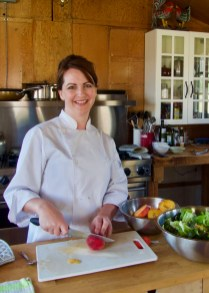 Chef Barb Thomas - photo by Karen Anderson