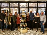Guests on the Eat the Castle tour by Alberta Food Tours at the Fairmont Banff Springs Hotel
