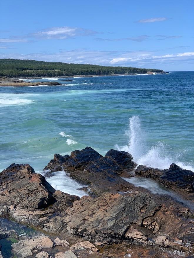 Coast of the Bonavista peninsula - photo by Karen Anderson