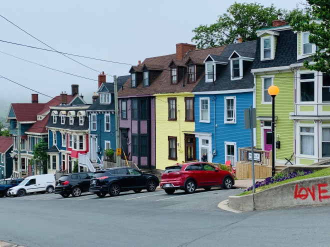 Bright homes in St. John's, NL - photo by Karen Anderson