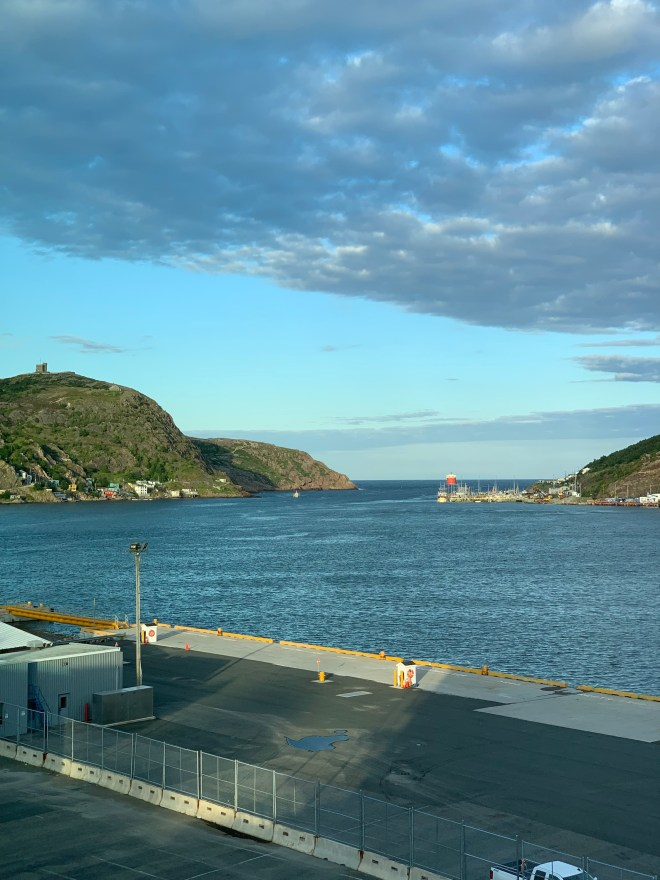View from the Alt Hotel, St. John's, NL