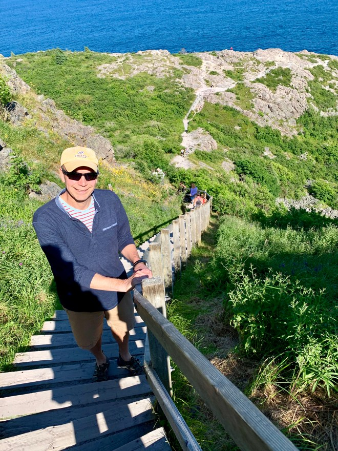 Signal Hill hiking - photo by Karen Anderson