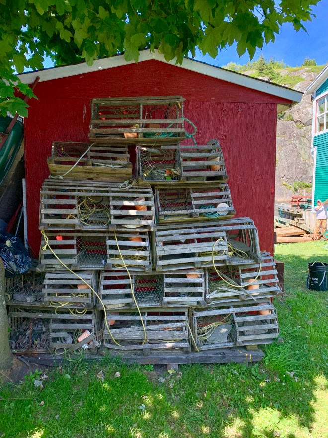 Lobster Traps - photo by Karen Anderson