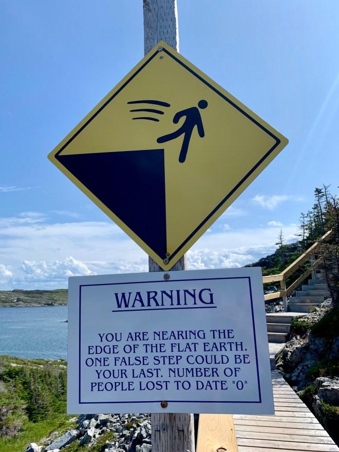 Brimstone Head Trail sign
