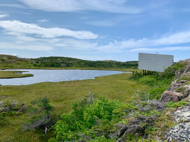 Bridge Studio, Fogo Island is one of four studios for artists