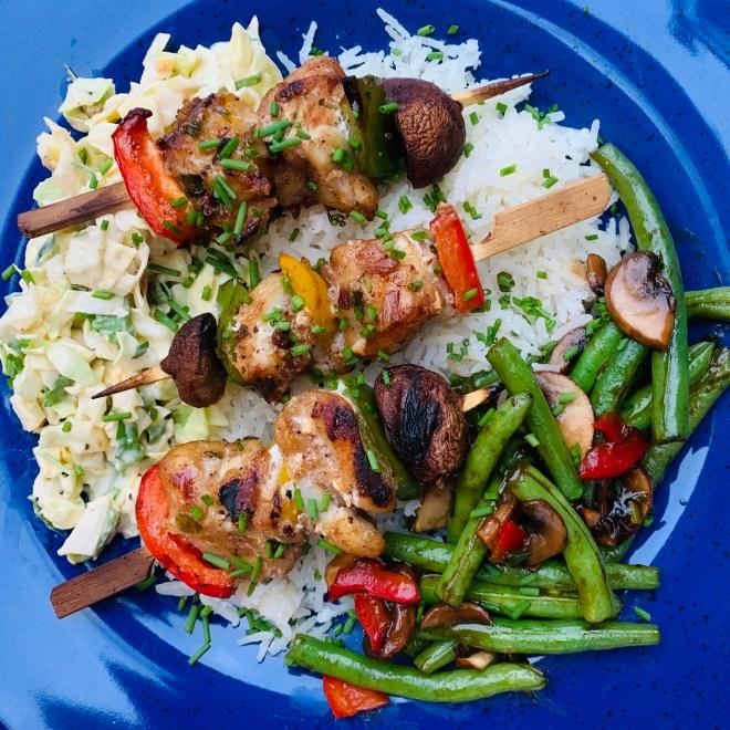 Grilled Cod Cheeks with Szechwan Peppercorn Marinade