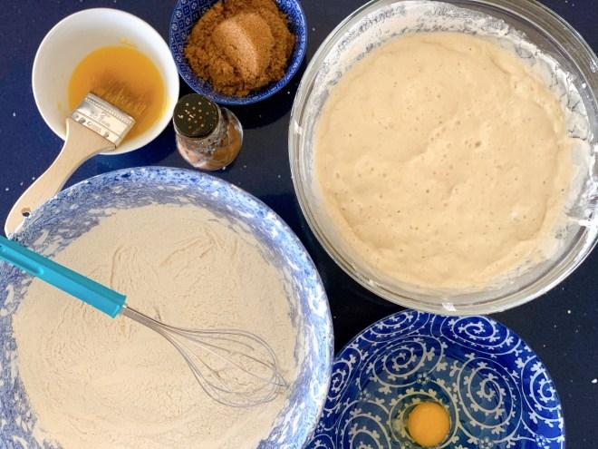 Ingredients for Hermione Sweet Sourdough Cinnamon Rolls