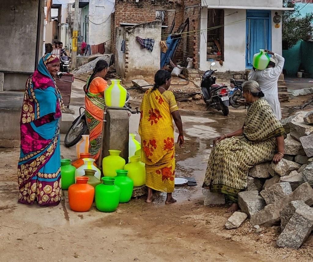 Women and Water - photo by Narasimha Reddy Yeddula