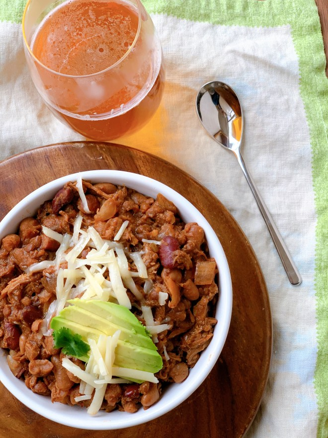 How to serve Five Bean Pork and Beans
