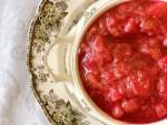 Overnight Rhubarb Sauce