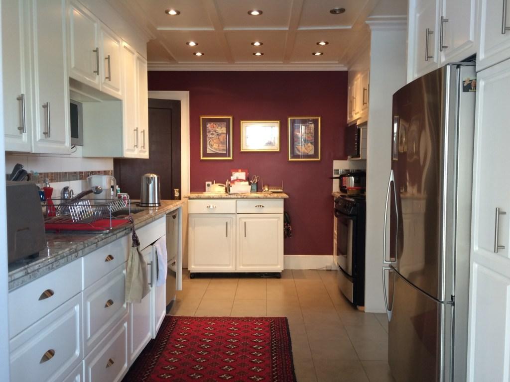 Noorbanu Nimji's Kitchen in her Calgary home