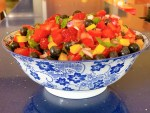 Three Berry Salsa - side view