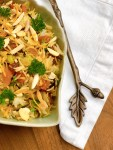Wild Rice Pilaf with Apricots and Almonds - close up