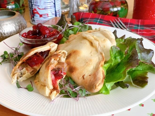 Hot Turkey Sandwich Calzones