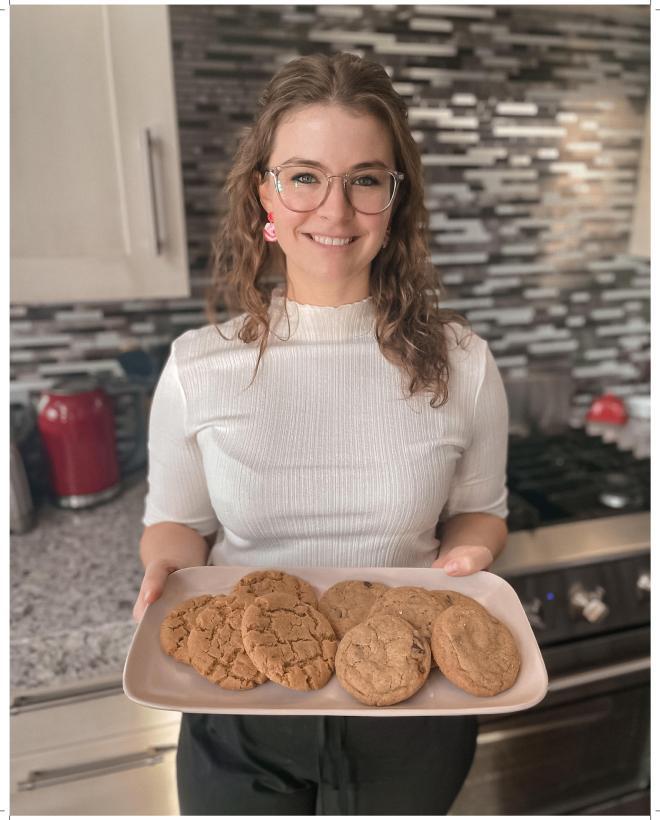 Lazy Bake owner Katie Duffin - portrait