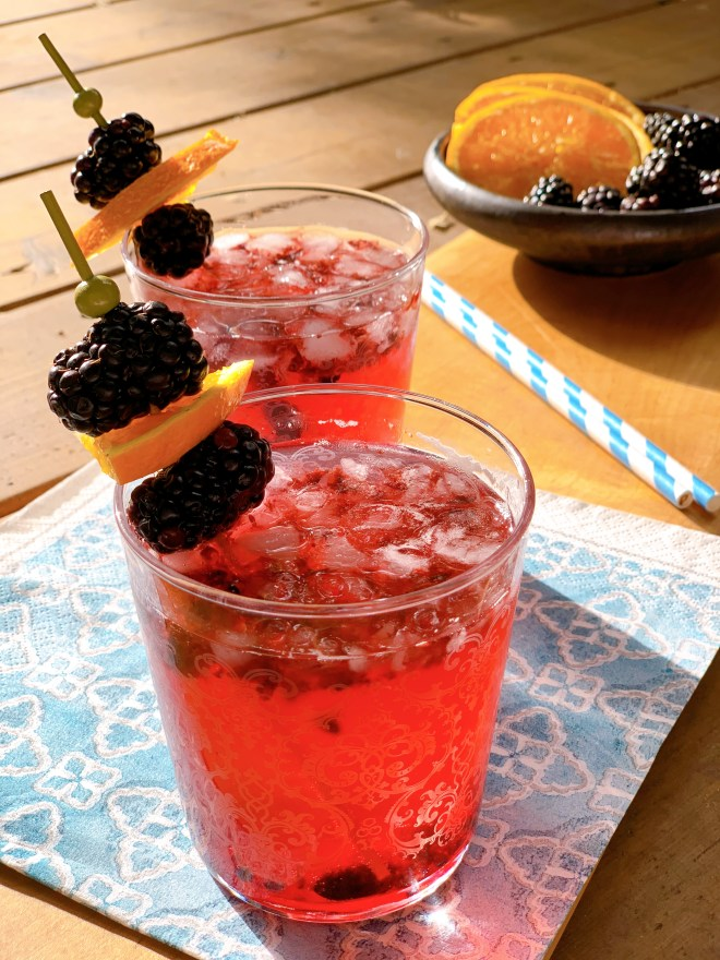 close up ofMi-Na-Sha-Piy (Berry Drink)