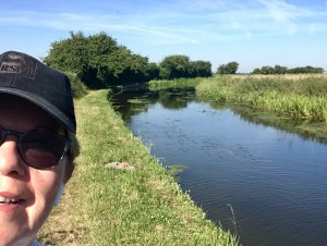 Me and the Chesterfield Canal towpath