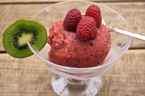 how to make kiwiw sorbet