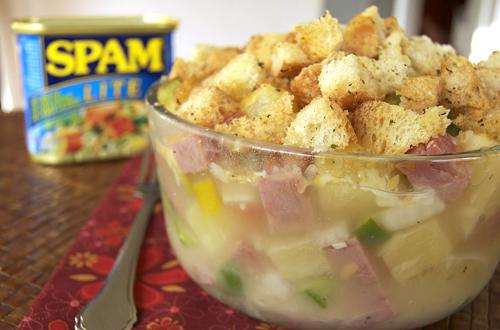 Hawaiian Spam Amp Pineapple Casserole Savour The Senses