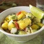 Mango Avocado Salsa {SRC Post}