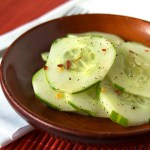 Asian Spiced Cucumbers