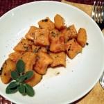 Sweet Potato Gnocchi w/ Sage Brown Butter