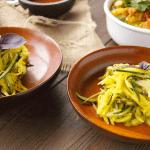 Kerabu Mangga Timun {Mango Cucumber Salad} w/ Kaffir Lime Dressing