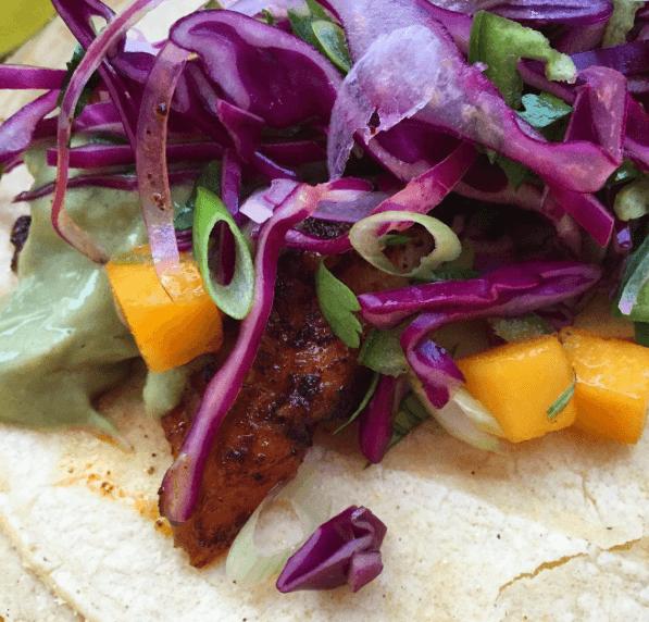 halibut-fish-taco-mango-slaw-tomatillo-avocado