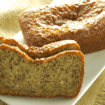 Eggless Banana Bread w/ Flax